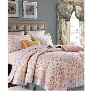 King quilt 3 pc set